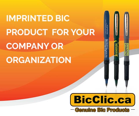 imprinted bic products for your company or organization