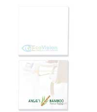 ecolutions 3 X 3 adhesive notepad - 100 sheets