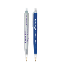 personalized bic tri stic clear pen
