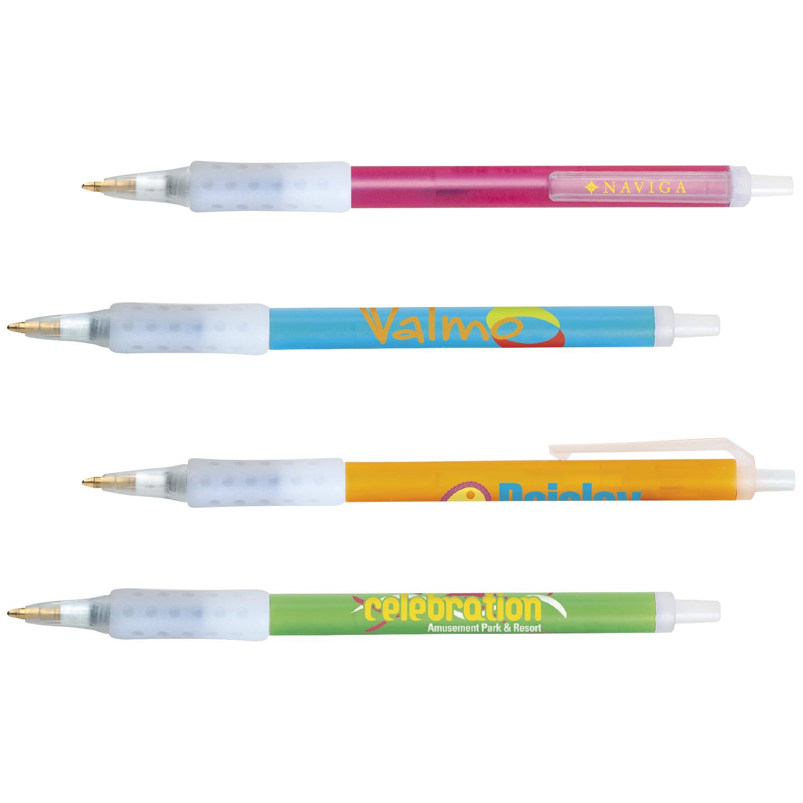 bic clic stic ice grip pen