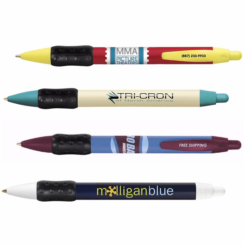 bic widebody grip pen, custom bic pens